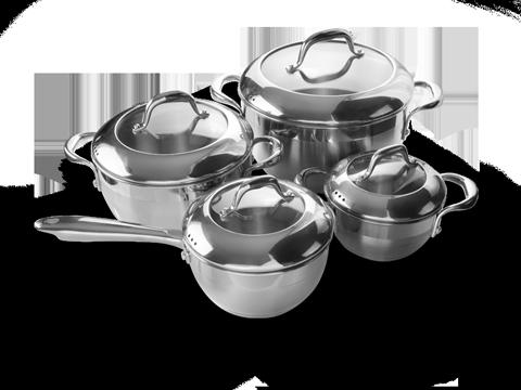 Fabricación de ollas y accesorios de cocina