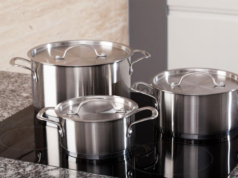 Ollas para restaurantes prodinox fabricaci n venta y for Utensilios alta cocina