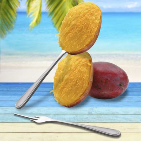 El tenedor de mango Möven esta fabricado en acero inoxidable de excelente calidad, su diseño es tradicional, elegante y brillante. Es ideal para restaurantes, buffets, eventos e incluso en el hogar.